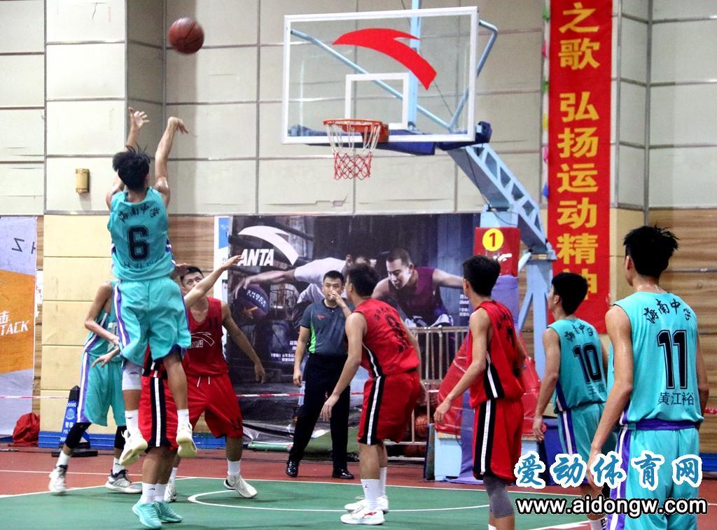2019年海南省中学生运动会篮球赛
