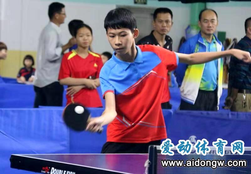 【乒乓球】我省乒球小将屯昌争锋!2019年海南省少年乒乓球锦标赛23日开打