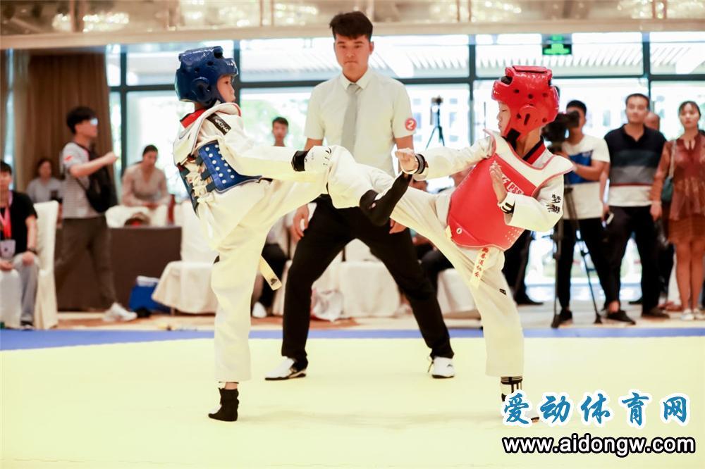2019年海南省大众跆拳道锦标赛(第二站)落幕
