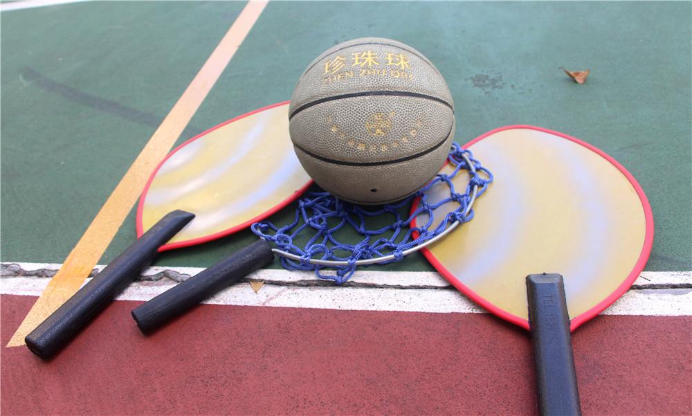 【图集】海南珍珠球队争分夺秒备战 男、女队要为奖牌拼一把