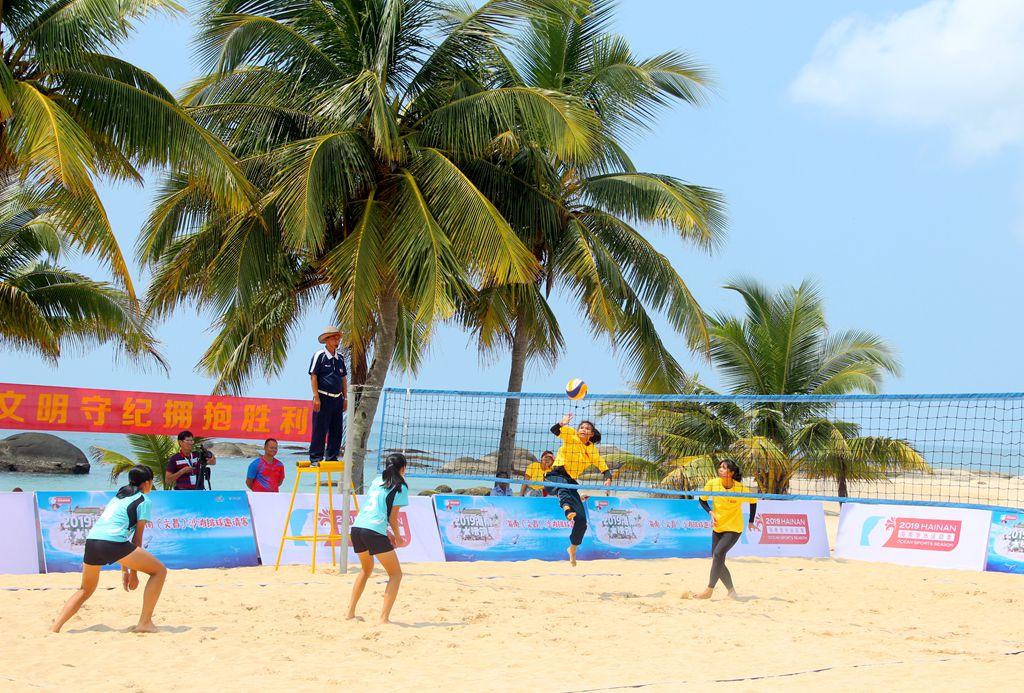 亲水运动季8月欢动沙滩落幕 海南沙滩运动产业化发展将引领旅游消费