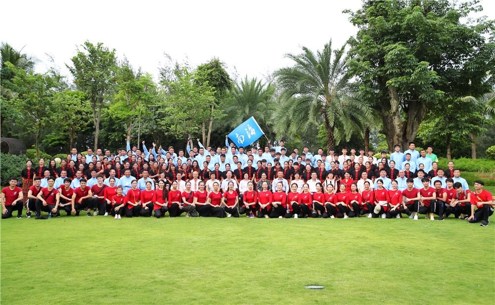第十一届全国少数民族传统体育运动会海南代表团出征动员誓师大会在海口举行