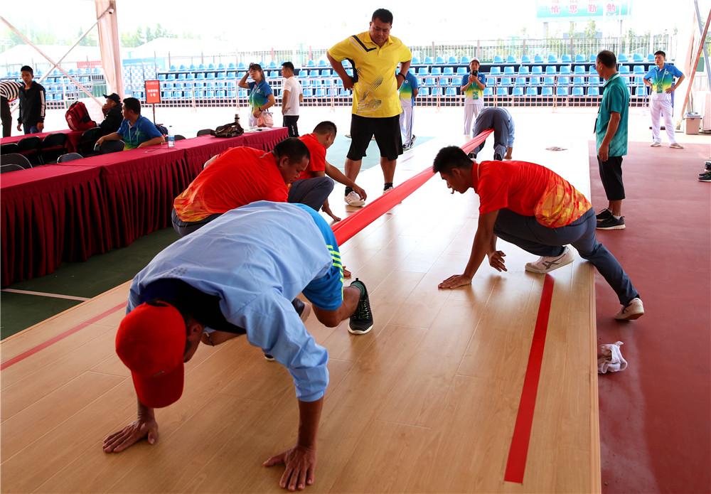 邹其国一行考察赛区竞赛、后勤组织工作  海南各队开启适应性训练