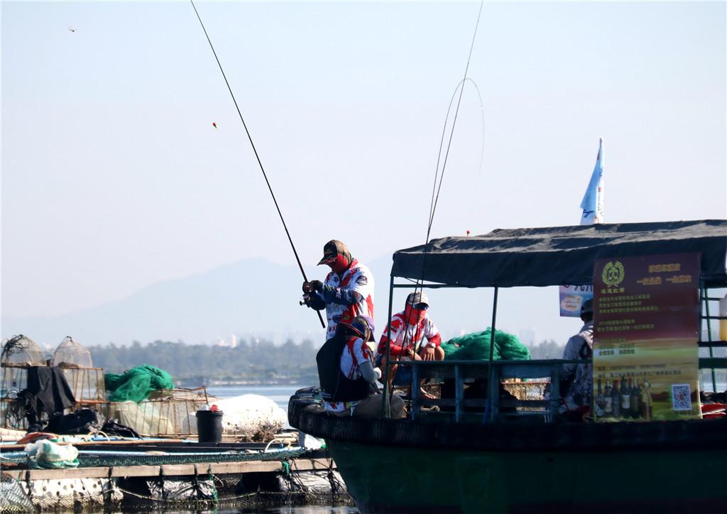 海钓嘉年华!海南亲水运动季陵水疍家海钓赛收竿