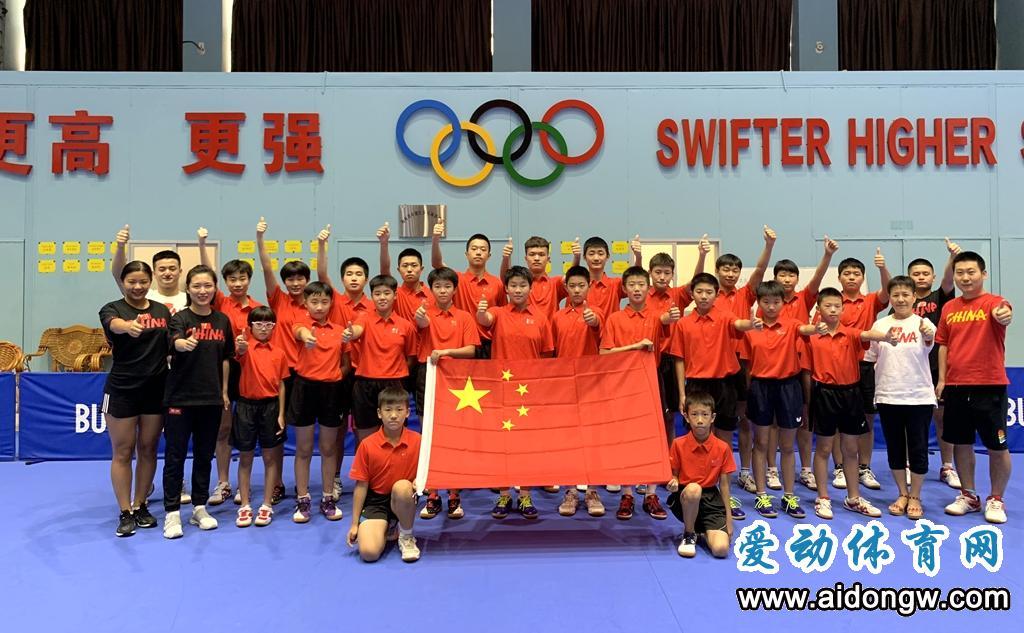 献礼新中国70华诞!海南省乒乓球队深情告白