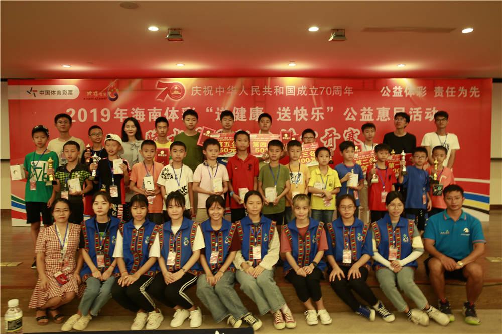 中国体育彩票助力2019年陵水国际象棋公开赛圆满举行