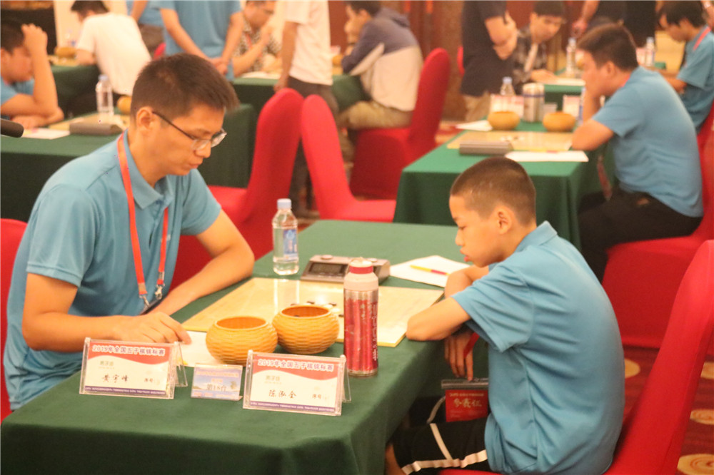 2019年全国五子棋锦标赛火热开赛