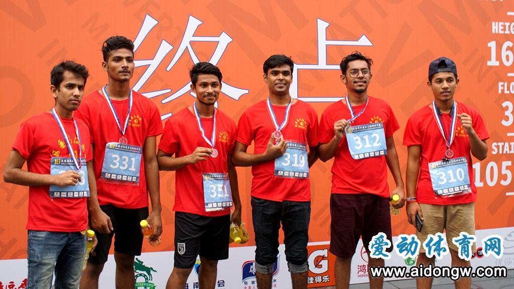 跑37层仅用4分半!2019海南垂直马拉松国际公开赛吸引400名跑友挑战