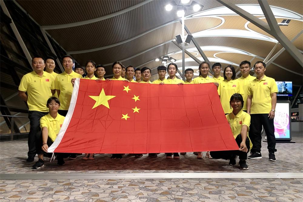 海南13名沙排球员代表中国征战世界中学生沙排锦标赛收获成长