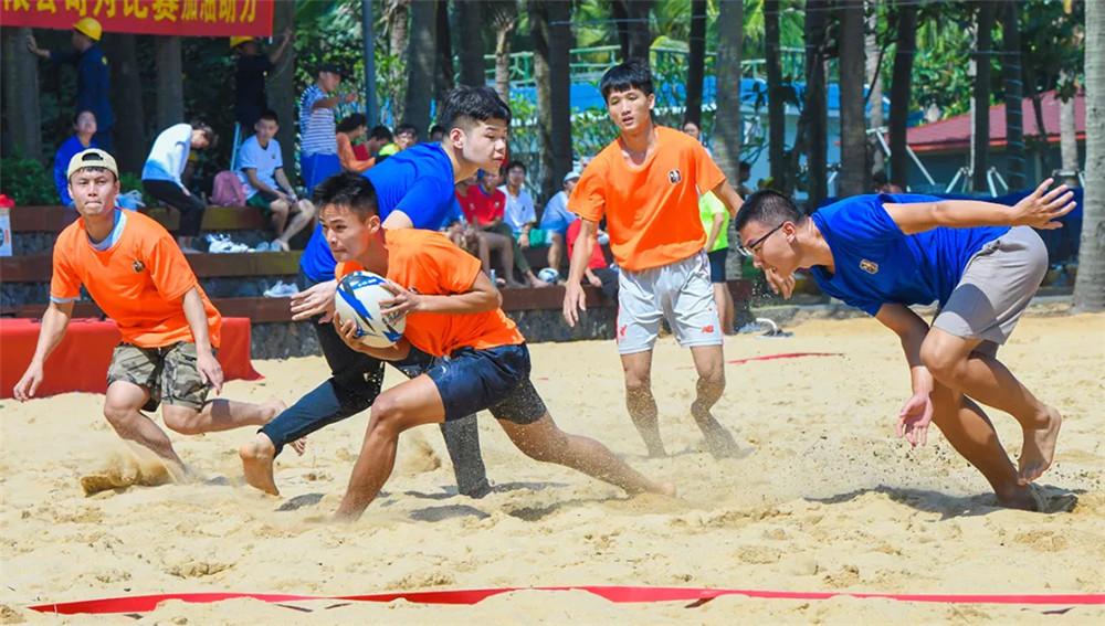 海南亲水运动季沙滩橄榄球邀请赛20日开打