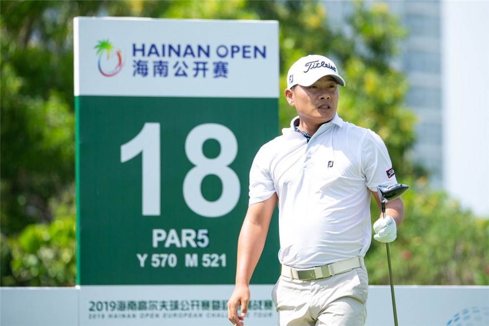 2019海南公开赛首轮罗兹勒领先 中国肖博文张进并列第六