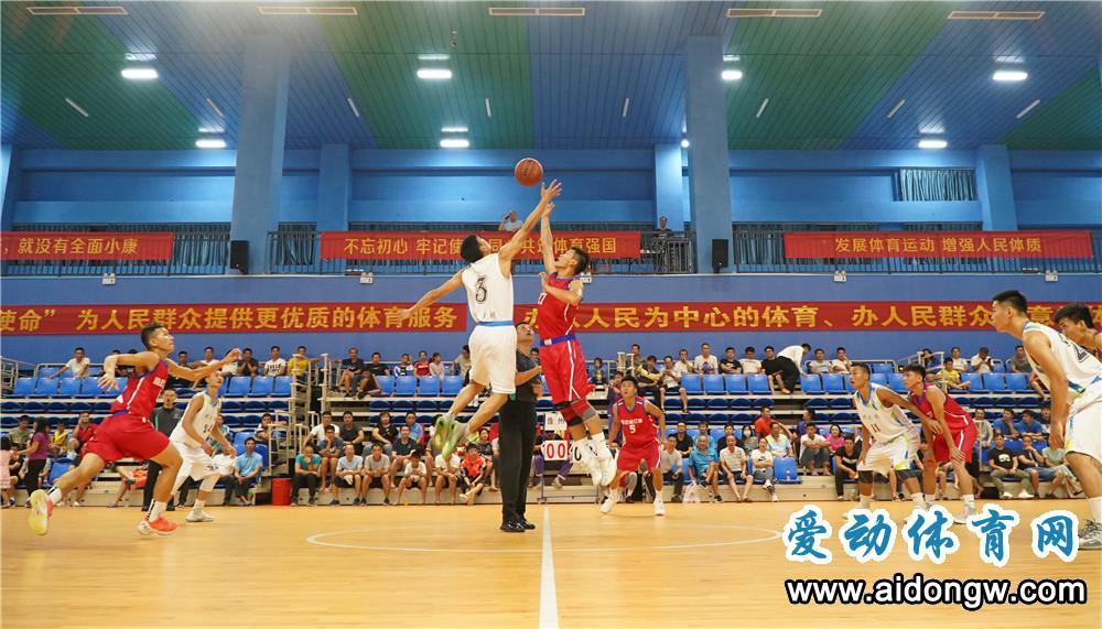 """2019年""""白沙杯""""海南省农民男子篮球赛收官 澄迈队夺得冠军"""