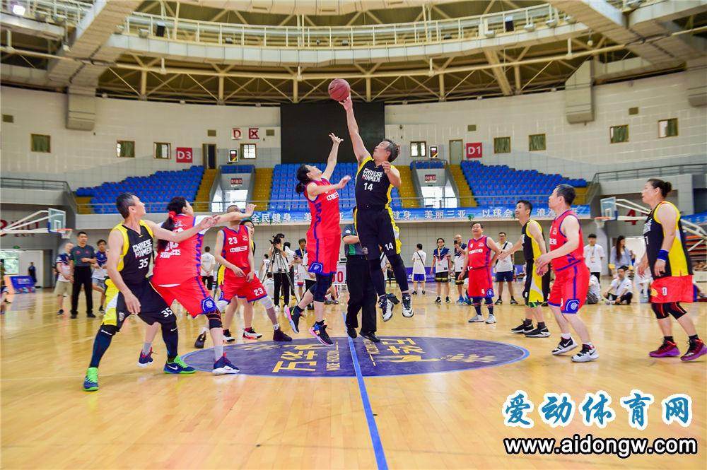 """2019年""""魅力三亚""""国际精英中老年篮球邀请赛"""