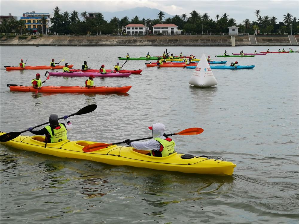 2019海南亲水运动季环海南岛国际皮划艇巡回赛陵水站收官