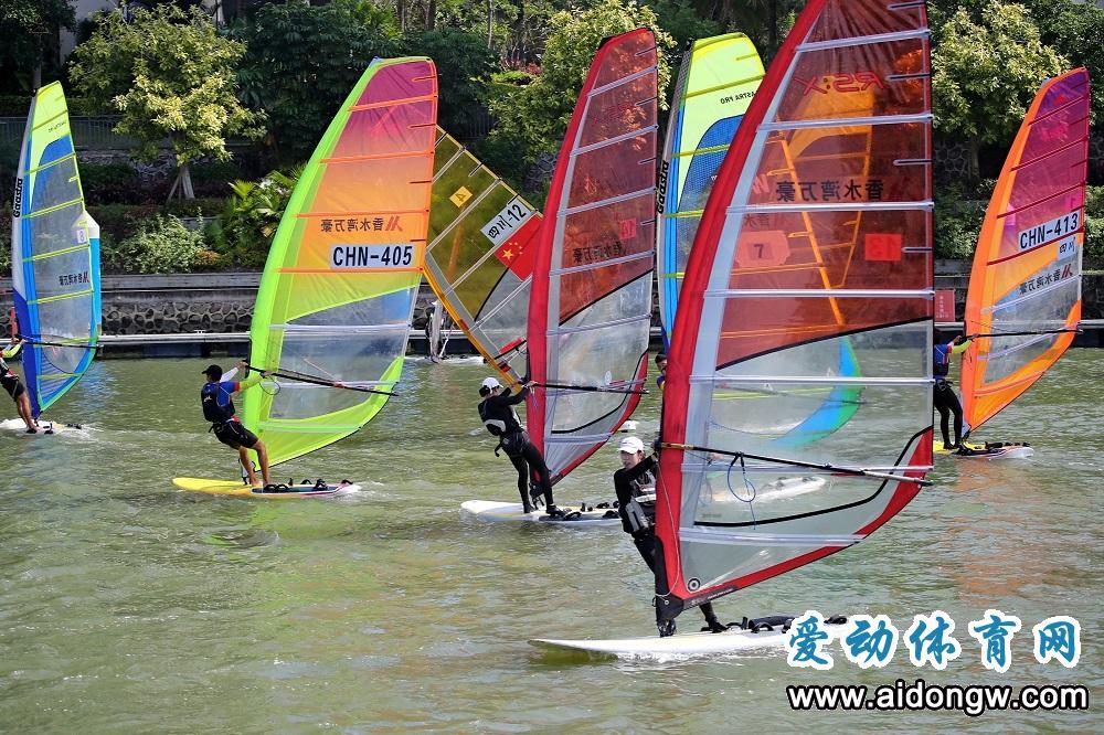 2019四川省青少年帆船帆板锦标赛(专业组)陵水收官