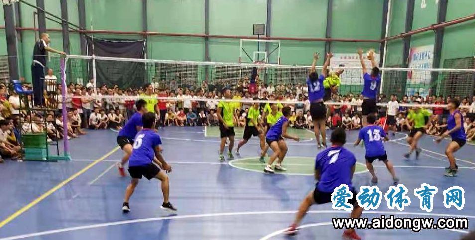 海南省农民男子九人排球赛12月4日屯昌开打