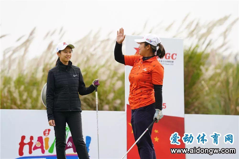 2019中国(海南)青少年高尔夫球精英赛首轮结束 刘恩骅、纪钰爱分列男女A组领先