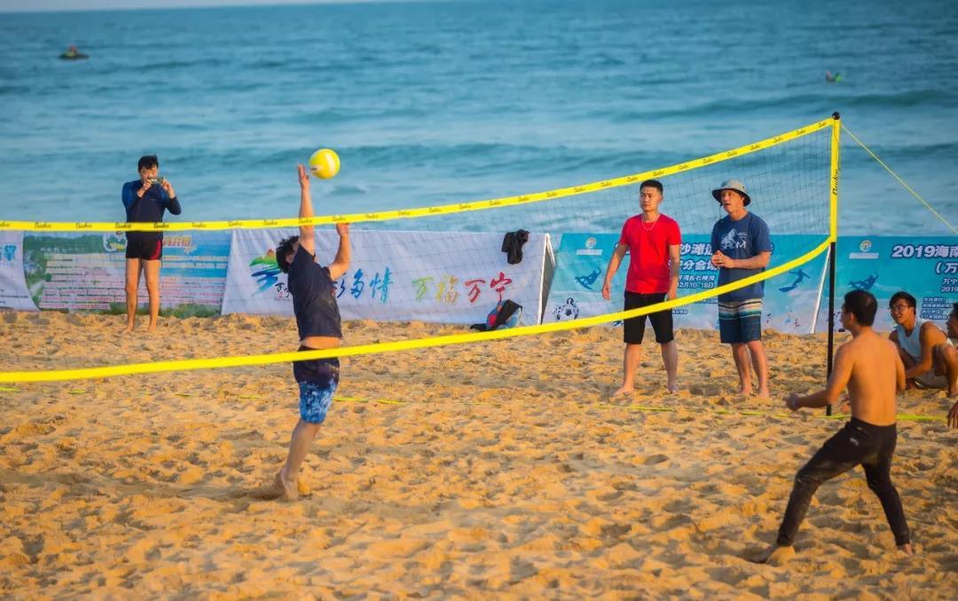2019海南沙滩运动嘉年华万宁分会场活动启动 20多项沙滩活动齐亮相