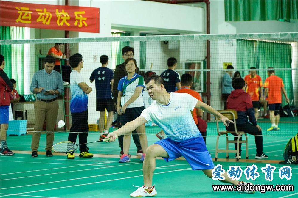 2019海南省全民健身运动会羽毛球项目挥拍 18支球队齐聚海口