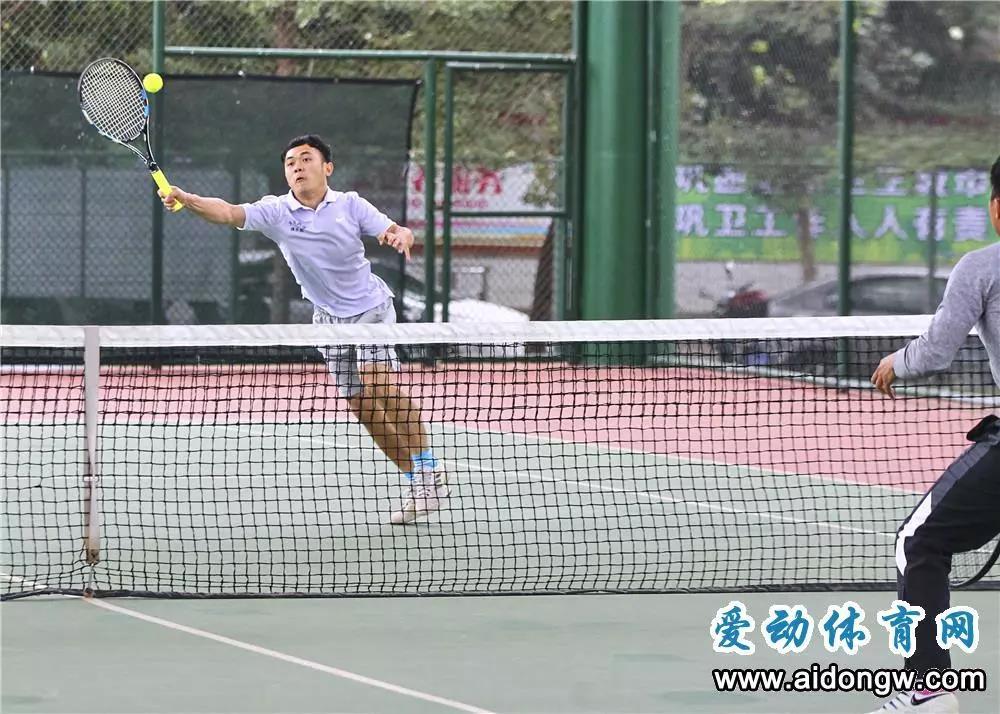 2019海南省全民健身运动会网球火热开赛