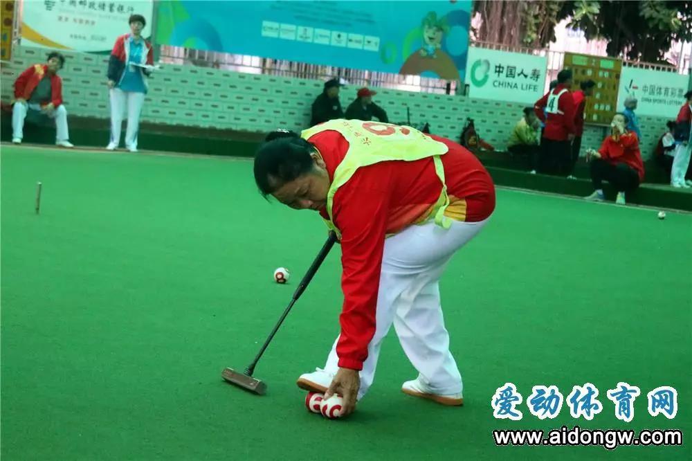 2019海南省全民健身运动会门球项目开赛 助力全民健身多元化