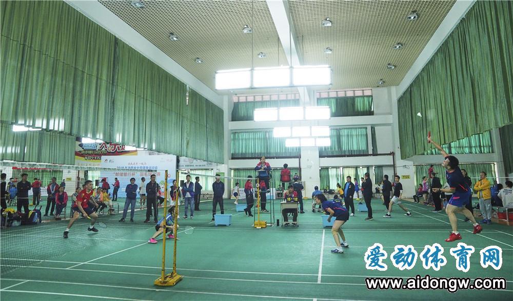 【视频】2019海南省全民健身运动会羽毛球项目挥拍