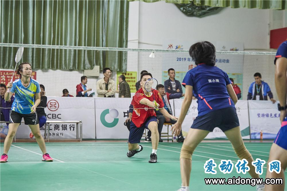 """2019年海南省全民健身运动会""""邮储银行杯""""羽毛球赛收官"""