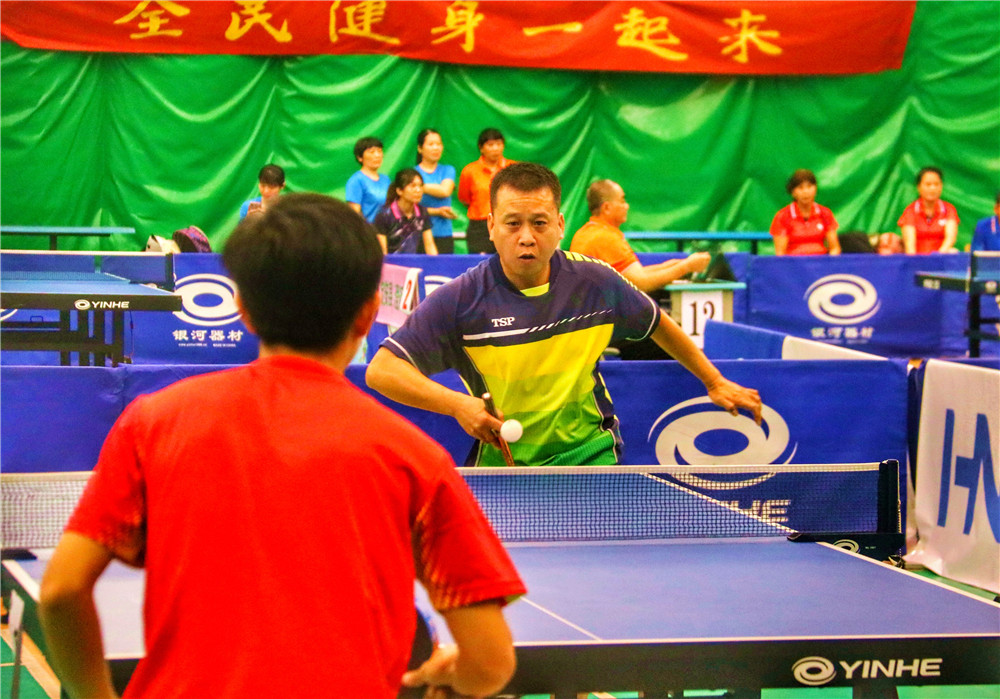 """2019年海南省全民健身运动会""""海南核电杯""""乒乓球赛结束"""