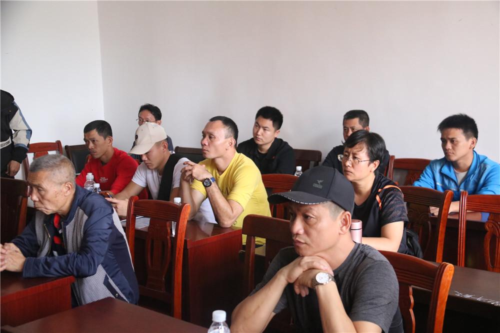 2019海南省武术散打段位考评员培训班定安圆满结束