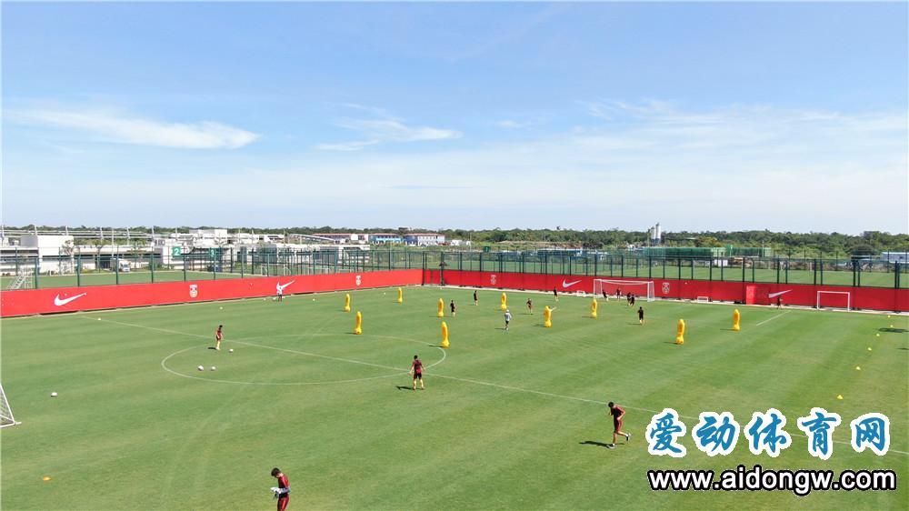 【视频】U16国少足球队海口备战亚少赛