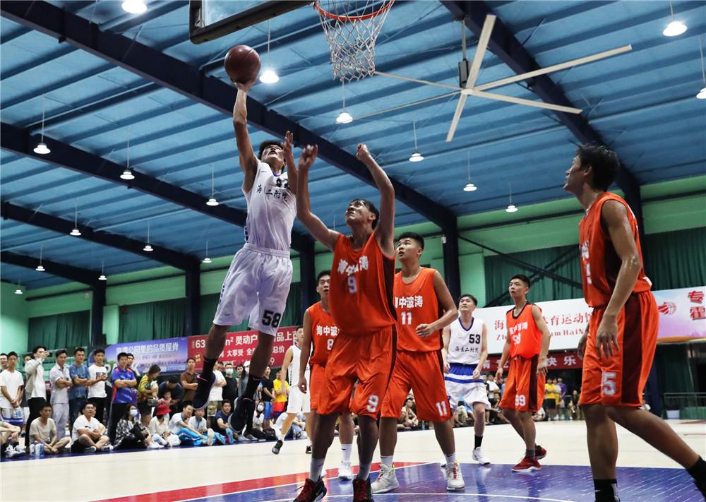 【图集】海南珠玑体育馆周年庆篮球争霸赛