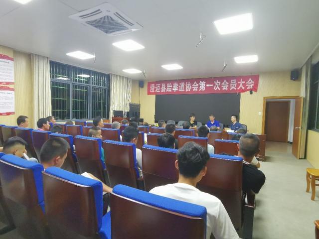 澄迈县跆拳道协会成立