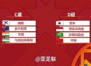 亚少赛分组抽签揭晓!U16国少与日本、印尼、沙特同组