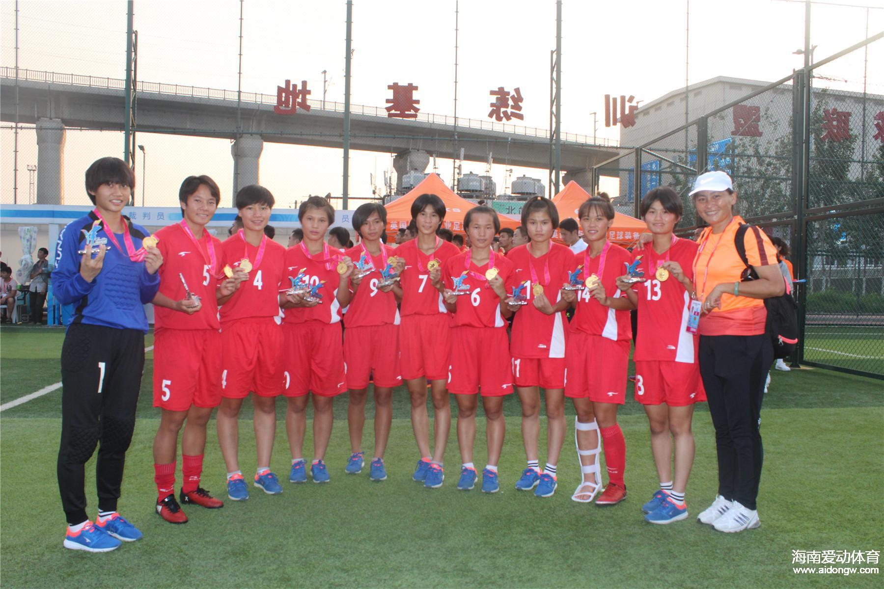 祝贺!琼中女足2人入选U19国家女足集训队