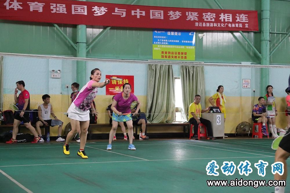 """2020年""""谁是球王""""海南省民间羽毛球赛澄迈挥拍"""