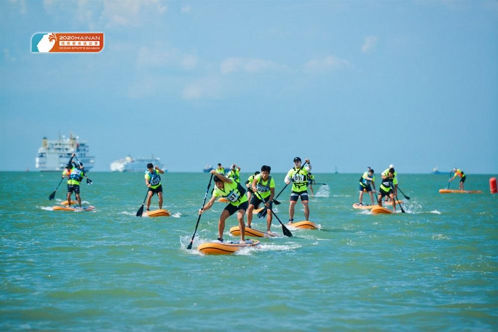 2020海南亲水运动季-海南SUP桨板公开赛收官
