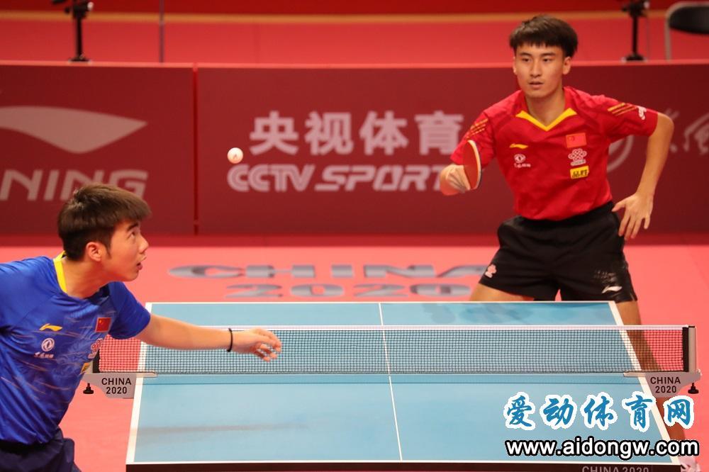 国家乒乓球队东京奥运模拟赛陵水挥拍