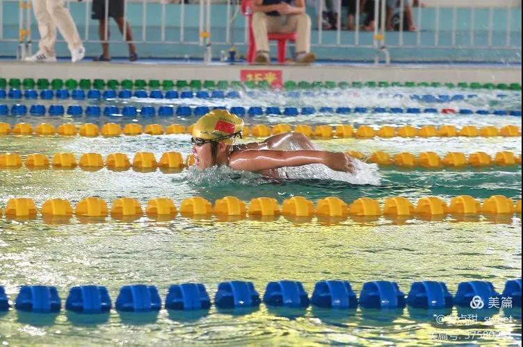 biwei必威体育备用网站省中学生运动会游泳比赛收官 海口市1队获团体奖第一名