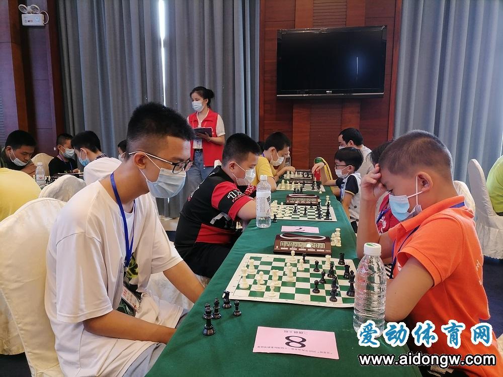 """""""亚泰杯""""2020年海南省第二十届国际象棋等级赛澄迈开赛"""