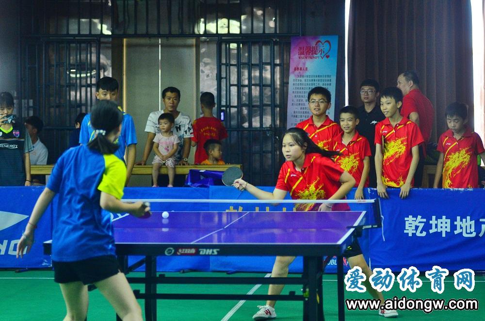 海南省乒乓球群众邀请赛挥拍 为市民搭建全民健身平台
