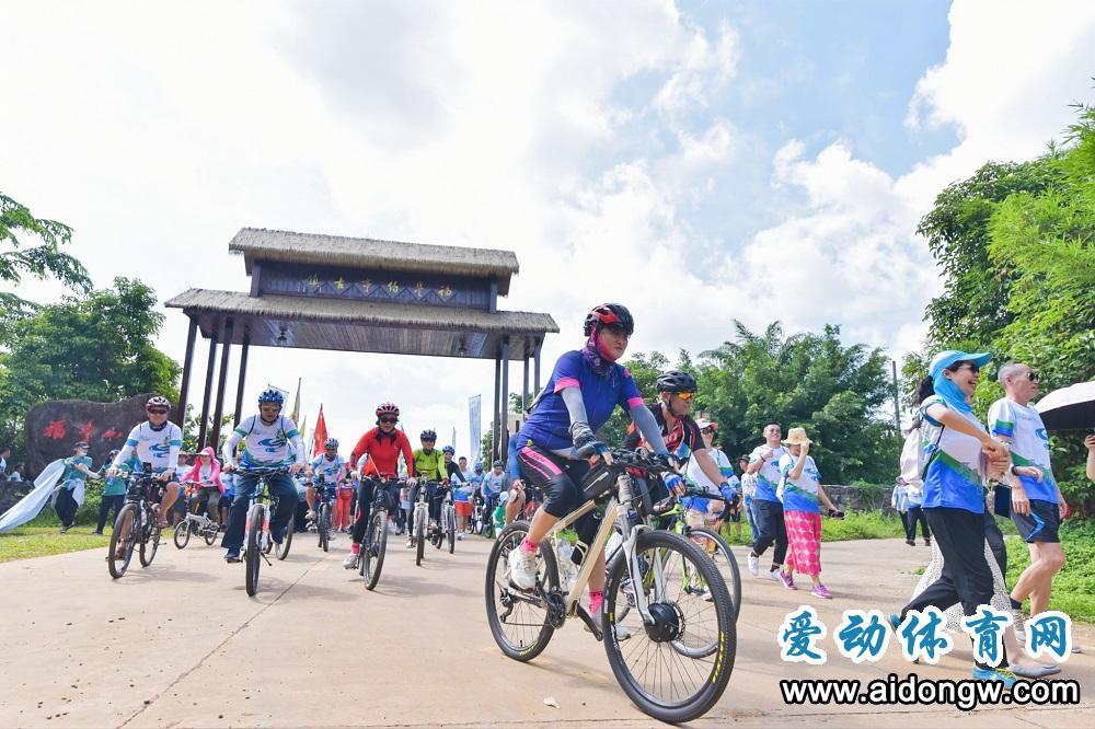 2020biwei必威体育备用网站美丽乡村绿色骑行活动·澄迈站举行