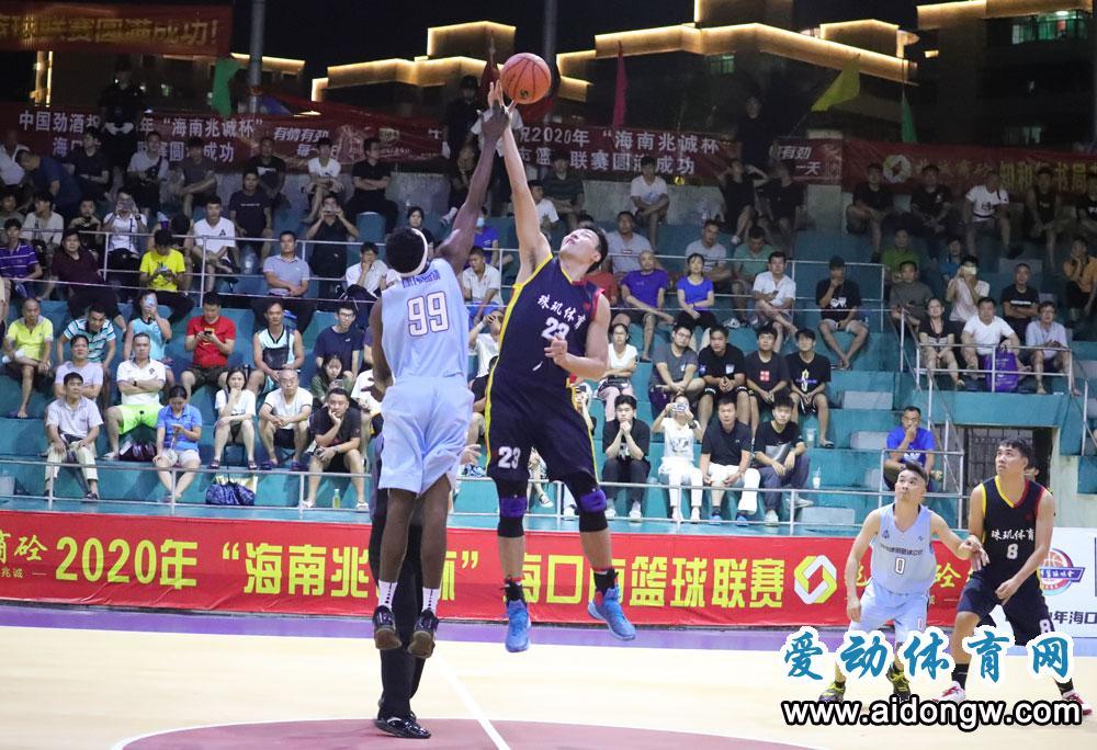 珠玑国雅搭上四强末班车,海口市篮球联赛半决赛今晚开打