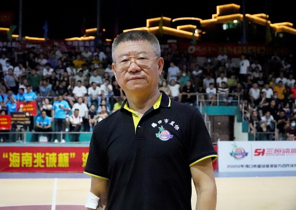 海口市篮协主席万长松:市篮球联赛或将分级,商业化运作是未来之路