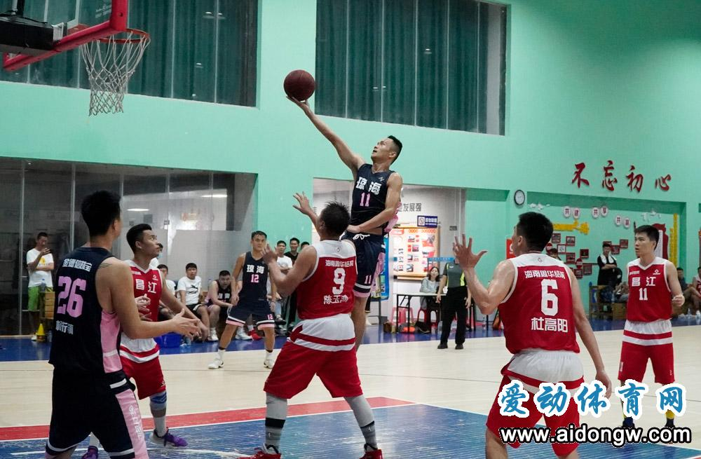 海口、澄迈、琼海和海师大晋级!省业余篮球公开赛乐东赛区25日开启