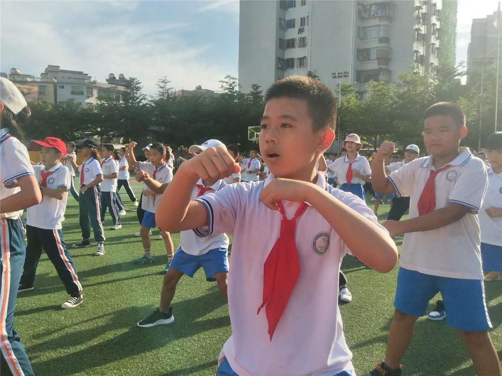 海口市武术进校园活动启动 四区十余所中小学参与