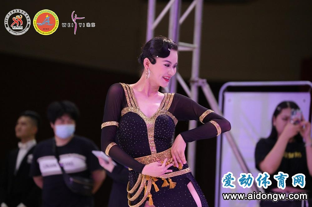 2020年海南省体育舞蹈公开赛澄迈收官,图片直播破20万人次