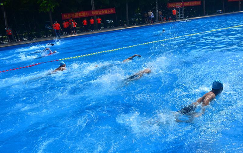 三亚市体育扶贫游泳救生员培训第三期举行开班仪式
