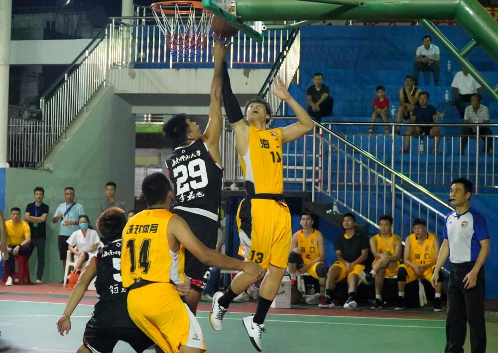 澄迈、海师大会师决赛!2020海南省业余篮球公开赛今晚揭晓大结局