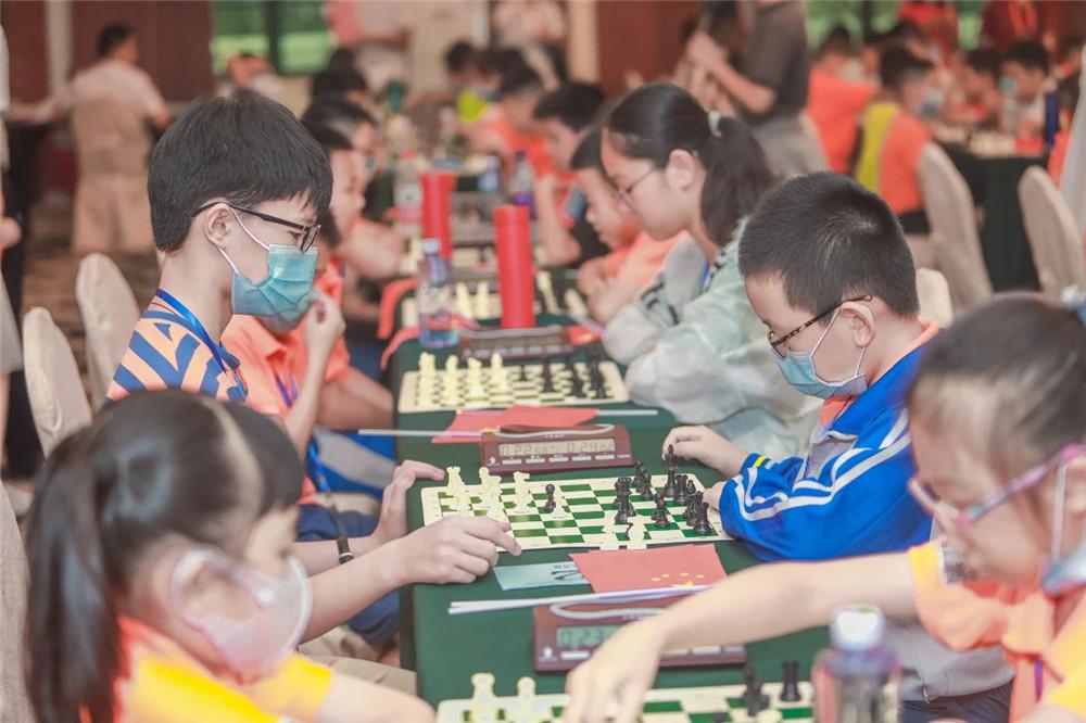 海南省第二十一届国际象棋等级赛儋州收官