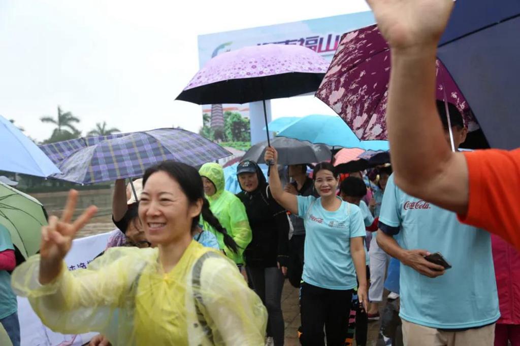 第三届海南福山全民健身骑跑赛举行